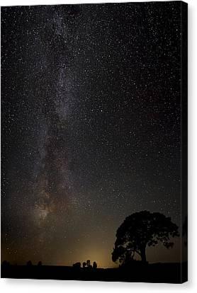 Milkyway Canvas Print by Kaspars Kurcens