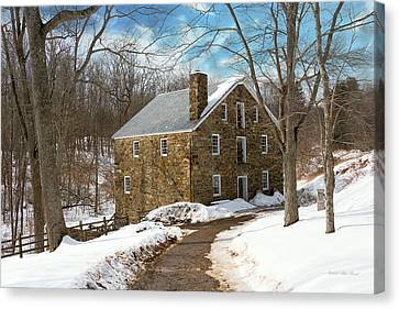 Old Mill Scenes Canvas Print - Mill - Cooper Grist Mill by Mike Savad