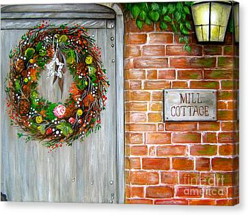 Mill Cottage Canvas Print by Patrice Torrillo