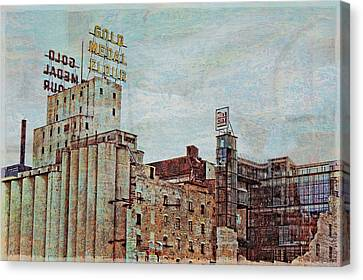 Mill District Minneapolis Canvas Print