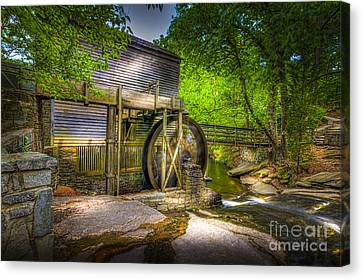 Mill Pond Canvas Print by Marvin Spates