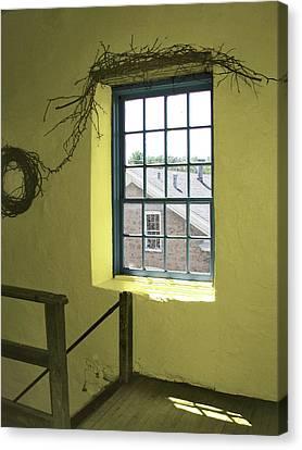 Mill Window Canvas Print