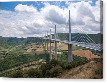 Millau Viaduct Canvas Print