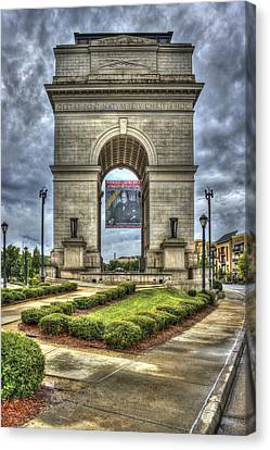 Millennium Gate Atlantic Station Midtown Atlanta Canvas Print