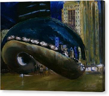 Millennium Park - Chicago Canvas Print