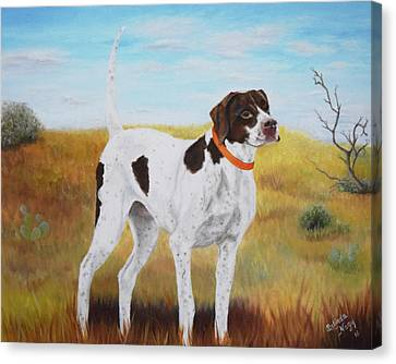 Milley, Pure Perfection Canvas Print