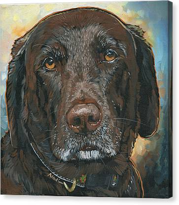 Millie Canvas Print by Nadi Spencer