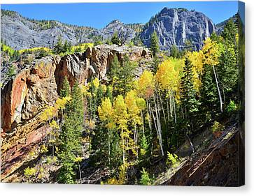 Canvas Print featuring the photograph Million Dollar Highway 550 by Ray Mathis