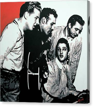 Million Dollar Quartet Canvas Print