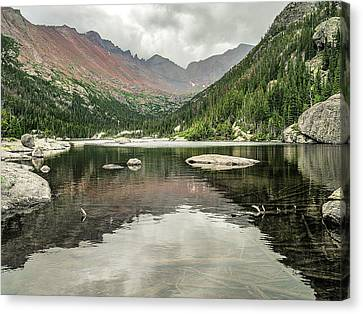 Mill's Lake View Canvas Print