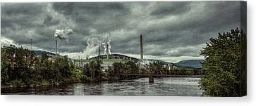 Canvas Print featuring the photograph Milltown by Guy Whiteley