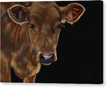Milo Canvas Print by Michelle Wrighton