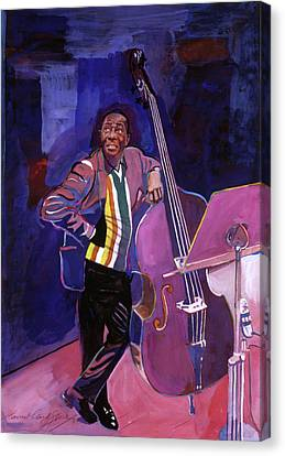Milt Hinton Jazz Bass Canvas Print