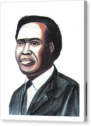 Milton Apolo Obote Canvas Print