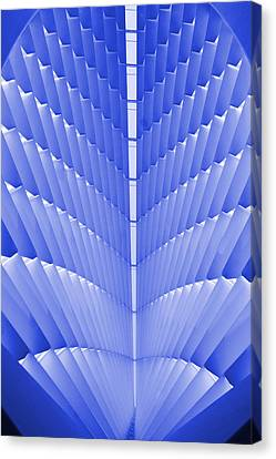 Milwaukee Art Museum Abstract Canvas Print