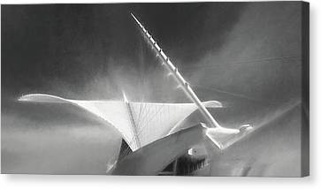 Milwaukee Art Museum September Canvas Print