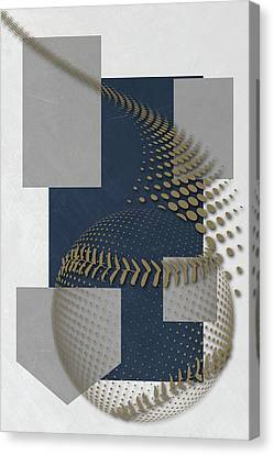 Baseball Fields Canvas Print - Milwaukee Brewers Art by Joe Hamilton