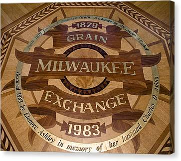 Canvas Print featuring the photograph Milwaukee Grain Exchange by Peter Skiba