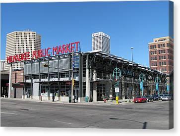 Milwaukee Public Market 1 Canvas Print