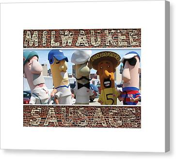 Milwaukee Sausages Canvas Print