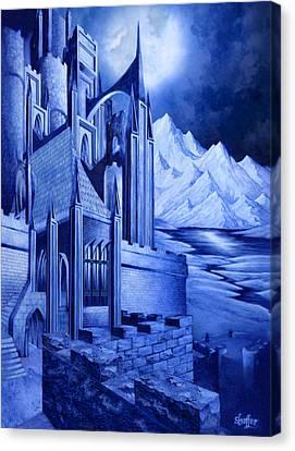 Minas Tirith Canvas Print by Curtiss Shaffer