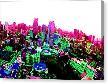 Minato Tokyo Canvas Print by Jera Sky