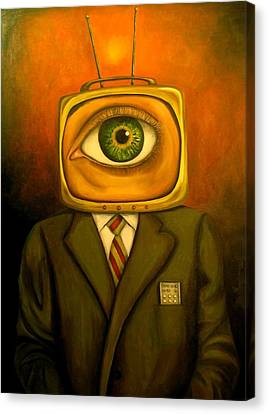 Mind Changer Canvas Print by Leah Saulnier The Painting Maniac