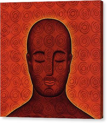 Mind Circles Canvas Print