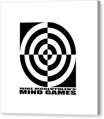 Mind Games 1se Canvas Print by Mike McGlothlen