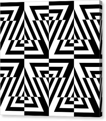 Mind Games 22 Canvas Print by Mike McGlothlen