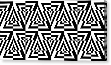 Mind Games 23 Canvas Print by Mike McGlothlen