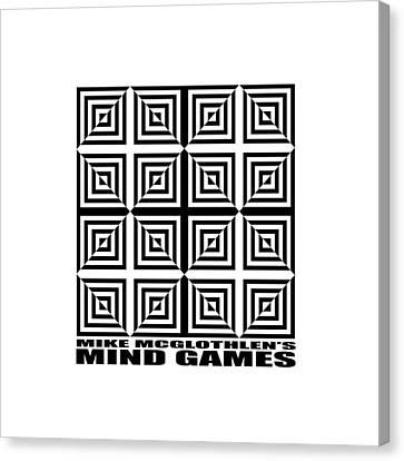 Mind Games 28se Canvas Print by Mike McGlothlen