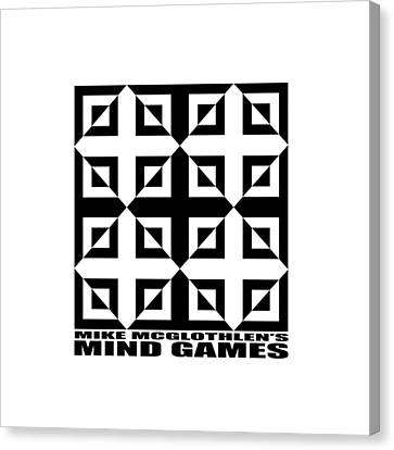 Mind Games 37se Canvas Print by Mike McGlothlen