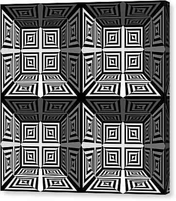 Mind Games 3d 2b Canvas Print by Mike McGlothlen