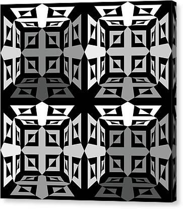 Mind Games 3d 4b Canvas Print by Mike McGlothlen