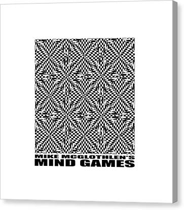 Mind Games 61se 2 Canvas Print by Mike McGlothlen
