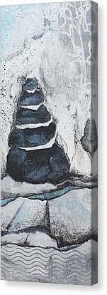 Wavy Canvas Print - Mindful Moments by Laura Lein-Svencner
