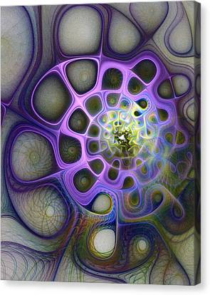 Mindscapes Canvas Print by Amanda Moore