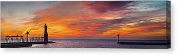 Canvas Print featuring the photograph Mine Eyes Have Seen The Glory by Bill Pevlor
