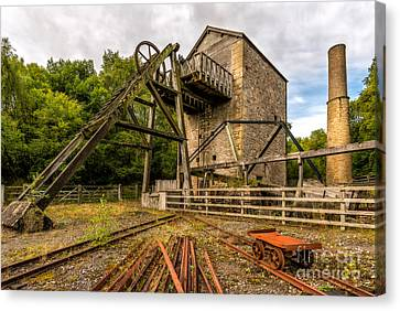 Minera Mine Canvas Print by Adrian Evans