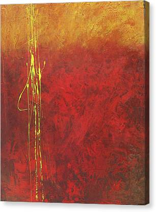 Miner's Gold Canvas Print by Carrie Allbritton