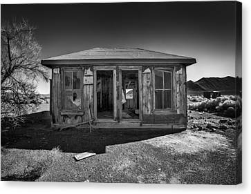 Miner's House Canvas Print by Peter Tellone