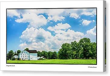 Mingoville Clouds Canvas Print