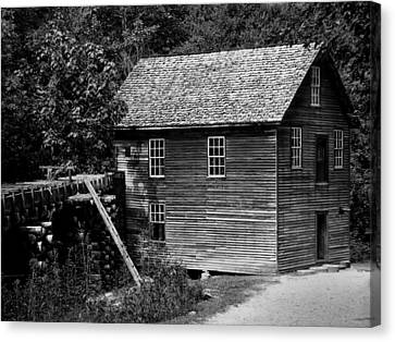 Grist Mill Canvas Print - Mingus Mill by Chris Flees