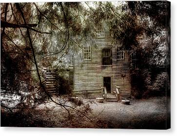 Mingus Mill N.c. Canvas Print