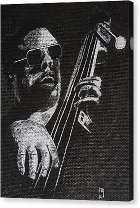 Mingus Canvas Print by Nick Young