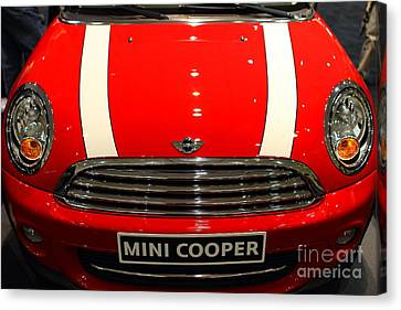 Mini Cooper . 7d9534 Canvas Print by Wingsdomain Art and Photography
