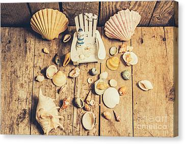 Miniature Sea Escape Canvas Print by Jorgo Photography - Wall Art Gallery