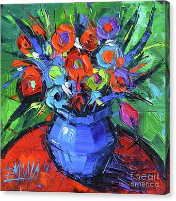 Minifloral Canvas Print