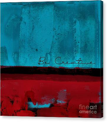 Minima - Be Creative Bc01b- Br02 Canvas Print by Variance Collections